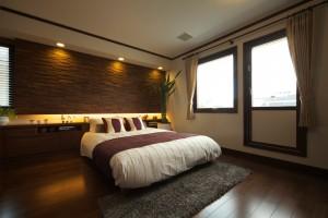 神宮東SWH寝室