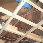 【39日目】屋内給排水工事・天井下地工事・屋根工事