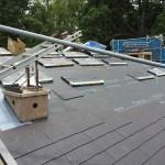 【35日目】屋根工事・電気配線・24時間換気システム設置工事