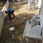 庭づくり(2) 防草シートまでの道のり